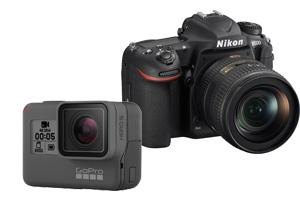 Фотоаппарат и экшн-камера