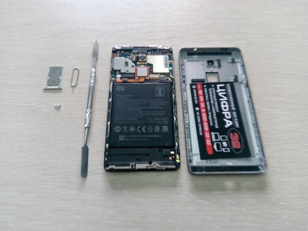 Замена входа з/у Xiaomi Note 4