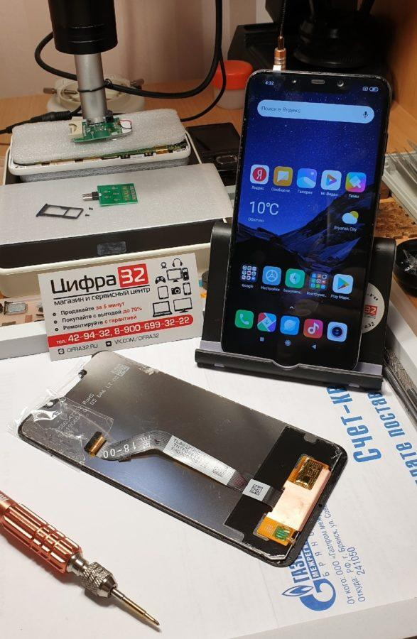 ремонт Xiaomi Pocophone F1