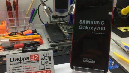 Ремонт Samsung A10 (A105F)