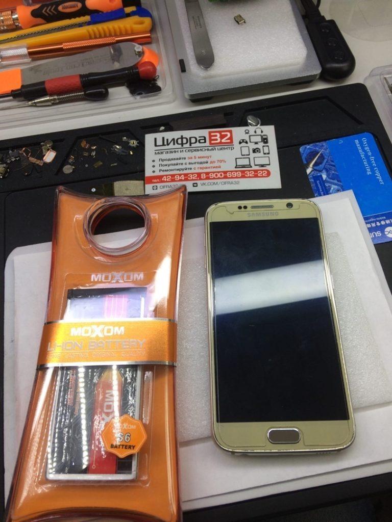 Ремонт смартфона SAMSUNG S6